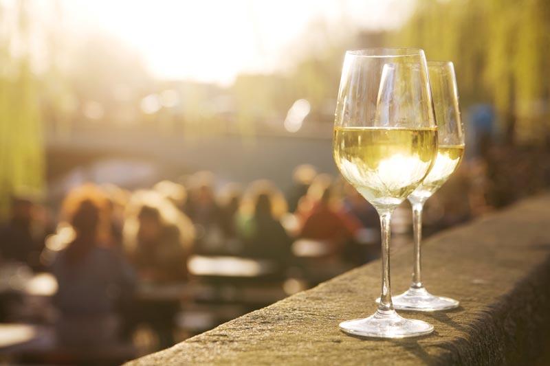 Chardonnay zomeravond
