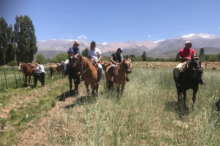 Paardrijden Las Pircas