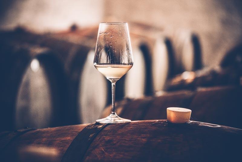 Sémillon wijnvat
