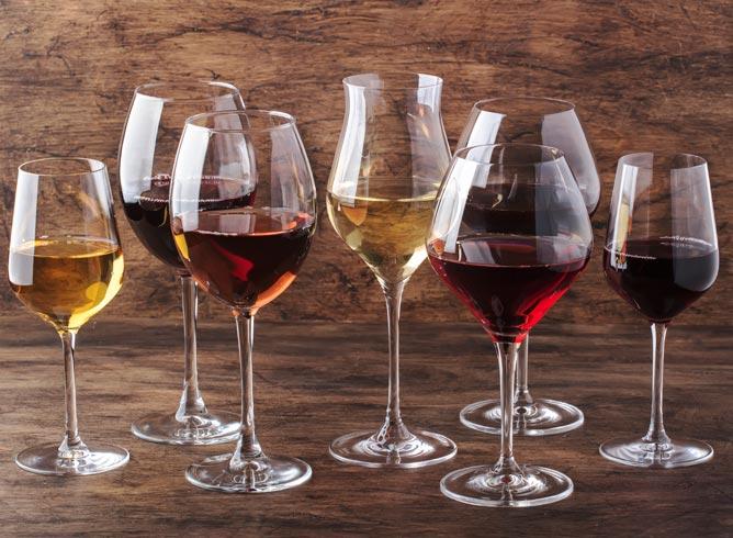 soorten wijnen